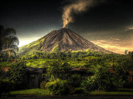 Arenal Volcano, Costa Rica By Isaac Bordas
