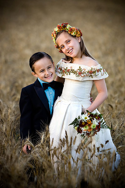 Wedding Photography Tips - Boy & Girl at Wedding