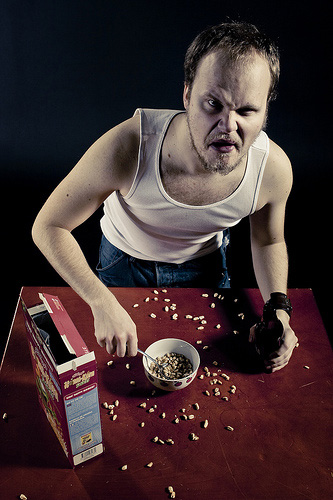Portrait Photography Tips - Cereal Killer