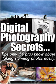 Digital Photography Secrets Ebook Cover