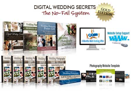 Digital Wedding Secrets - Photography Business Package From Nick Smith