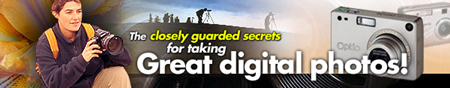 Digital Photography Secrets Ebook Banner