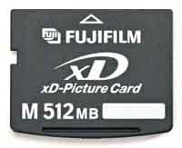 Fujifilm 512 MB XD Type M Picture Card