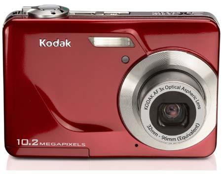 Kodak EasyShare C180 Digital Camera Red
