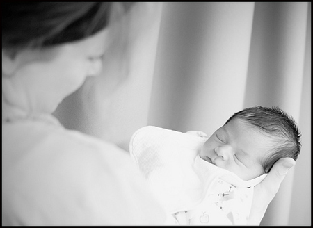 Mom & Baby - Portrait Photography Tips