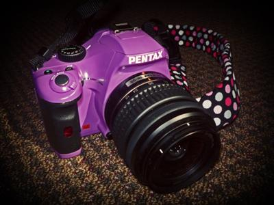 Pentax K-x Digital SLR Purple Haze