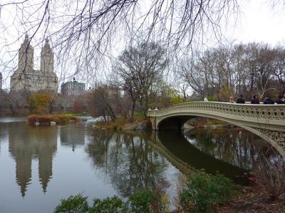 December in Central Park