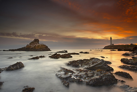 Digital Landscape Photography - Pigeon Point Lighthouse