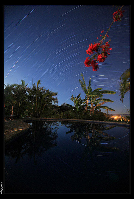 Star Trails taken by Paul Timpa - A good example of night photography using Manual Mode