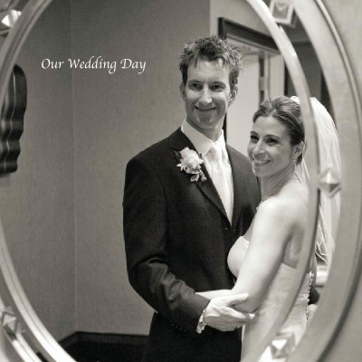 Wedding Photo Ideas - Bride & Groom Reflecting