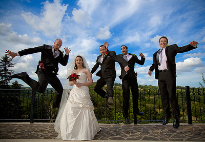 Wedding Photography Lighting Tips - Outdoor Wedding Photography by Allen Venables