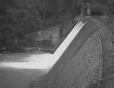 The Dam At Shores Lake