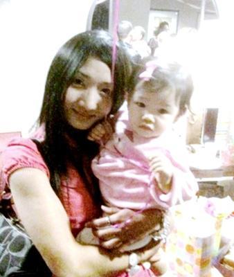 Little Sophia and I
