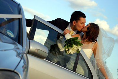 Digital Wedding Photography - The Groom Kisses The Bride
