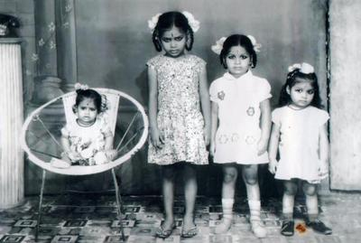 Four Beautiful Daughters From India