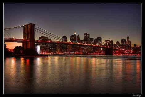 Picture of New York City Skyline by Paul Timpa