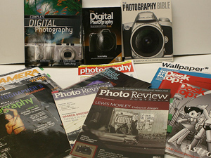 What is digital photography - books and magazines