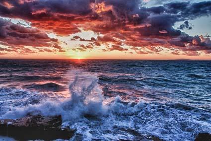 Sunset In Majorca, Spain By Andrés Nieto Porras