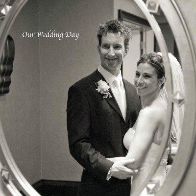 Wedding Photo Ideas - Bride & Groom Reflecting