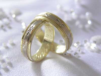 Photograph Of Wedding Rings